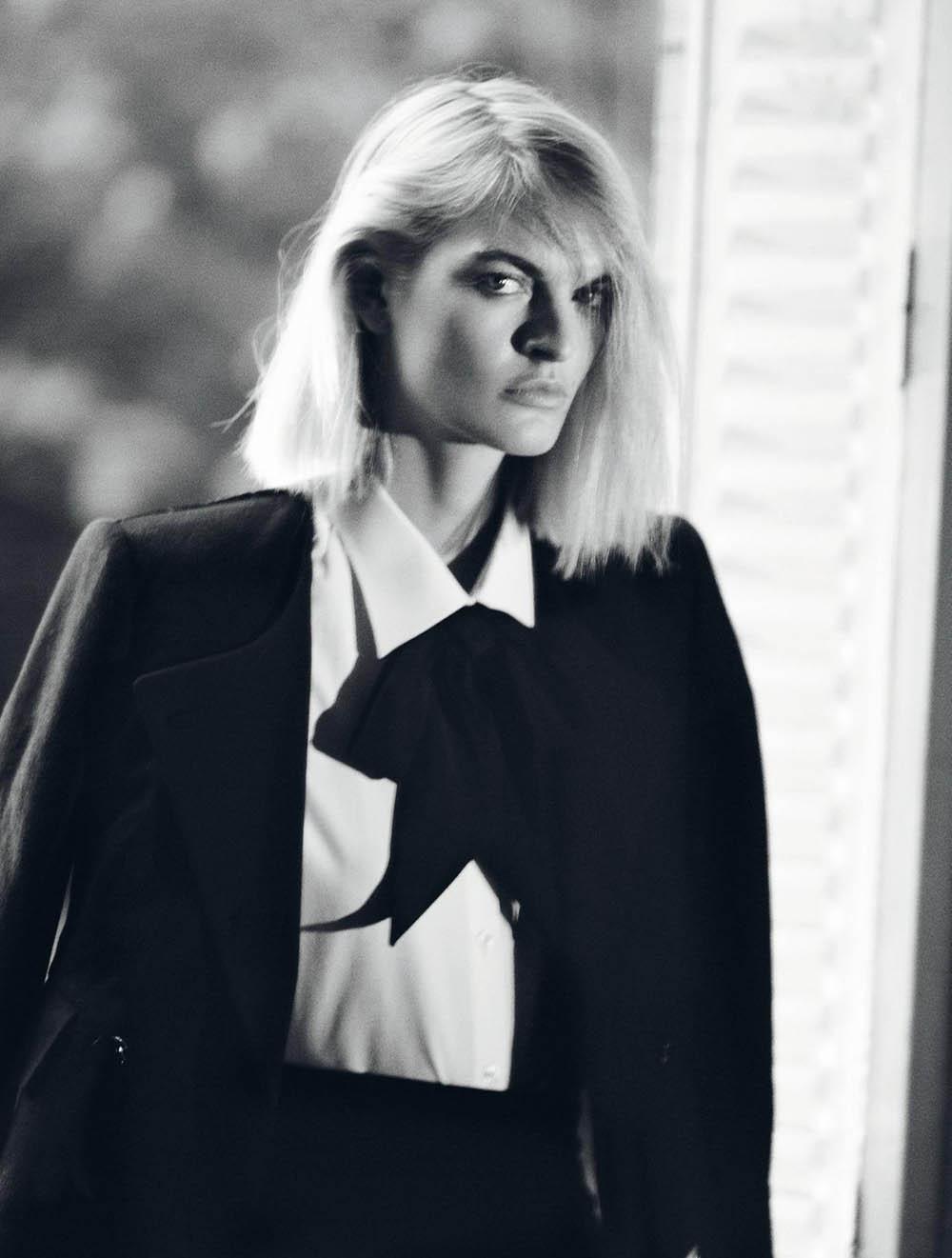 Juliane Grüner by David Black for Numéro September 2019