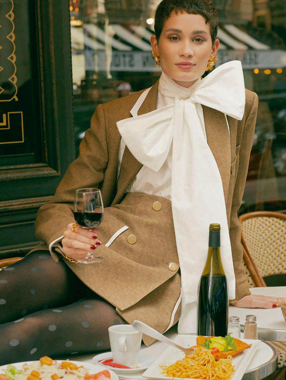 Katia Andre by Daniel Clavero for Elle UK September 2019