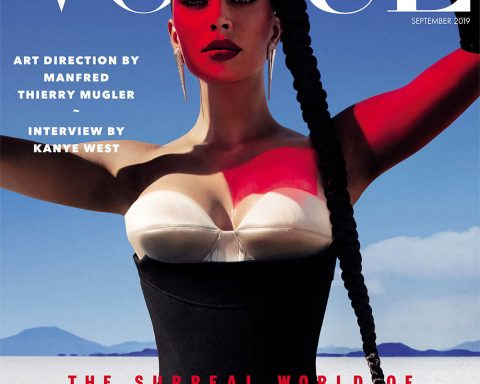 Kim Kardashian West covers Vogue Arabia September 2019 by Txema Yeste