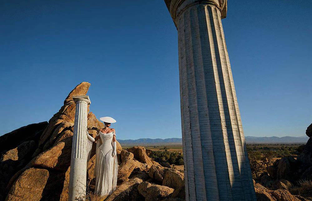 Kim Kardashian West covers Vogue Arabia September 2019 by Txema Yeste