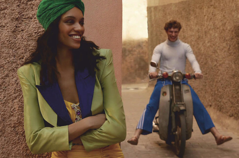 Kukua Williams and Timo Baumann by Daniel Clavero for Vogue Mexico & Latin America September 2019