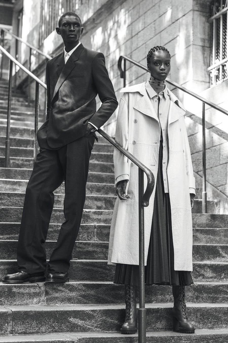 Kyla Ramsey and Fernando Cabral by Marco van Rijt for Numéro September 2019