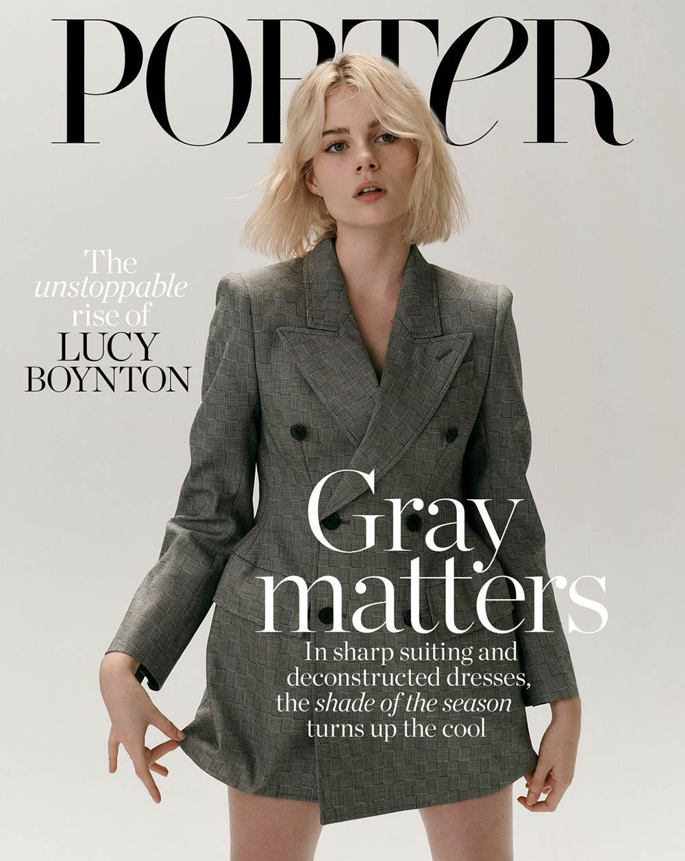 Lucy Boynton covers Porter Edit September 20th, 2019 by Nicolas Kantor