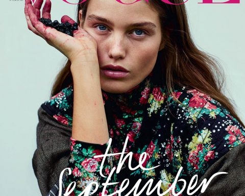 Luna Bijl covers Vogue Poland September 2019 by Sonia Szóstak