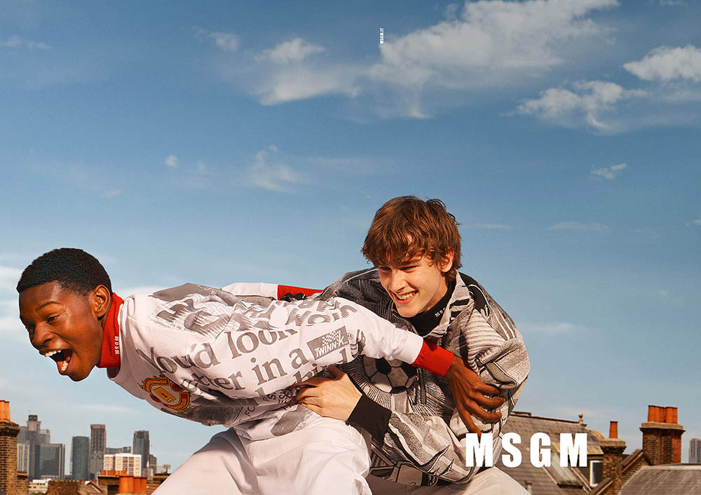 MSGM Fall Winter 2019 Campaign