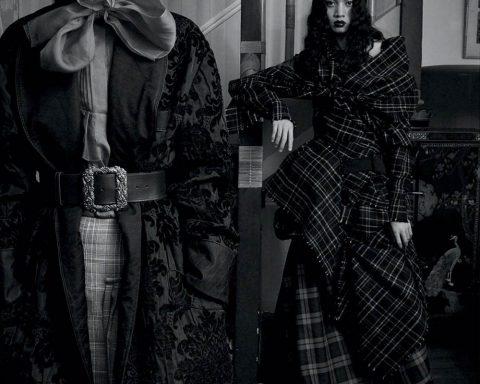 Maggie Maurer and Noah Carlos by Emma Summerton for Vogue Spain September 2019