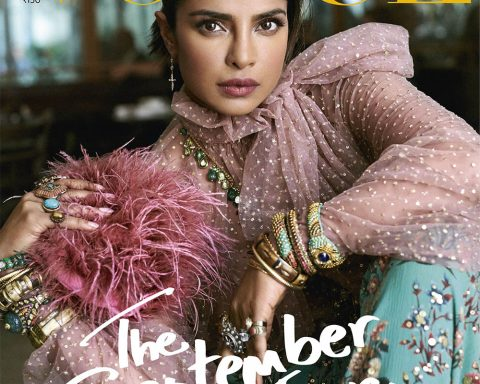 Priyanka Chopra covers Vogue India September 2019 by Marcin Kempski