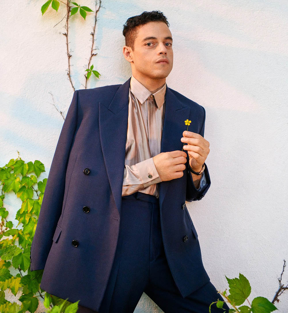 Rami Malek covers GQ USA September 2019 by Ryan McGinley