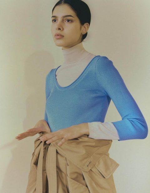 Rawiyaa Madkouri by Bennie Julian Gay for Marie Claire France September 2019