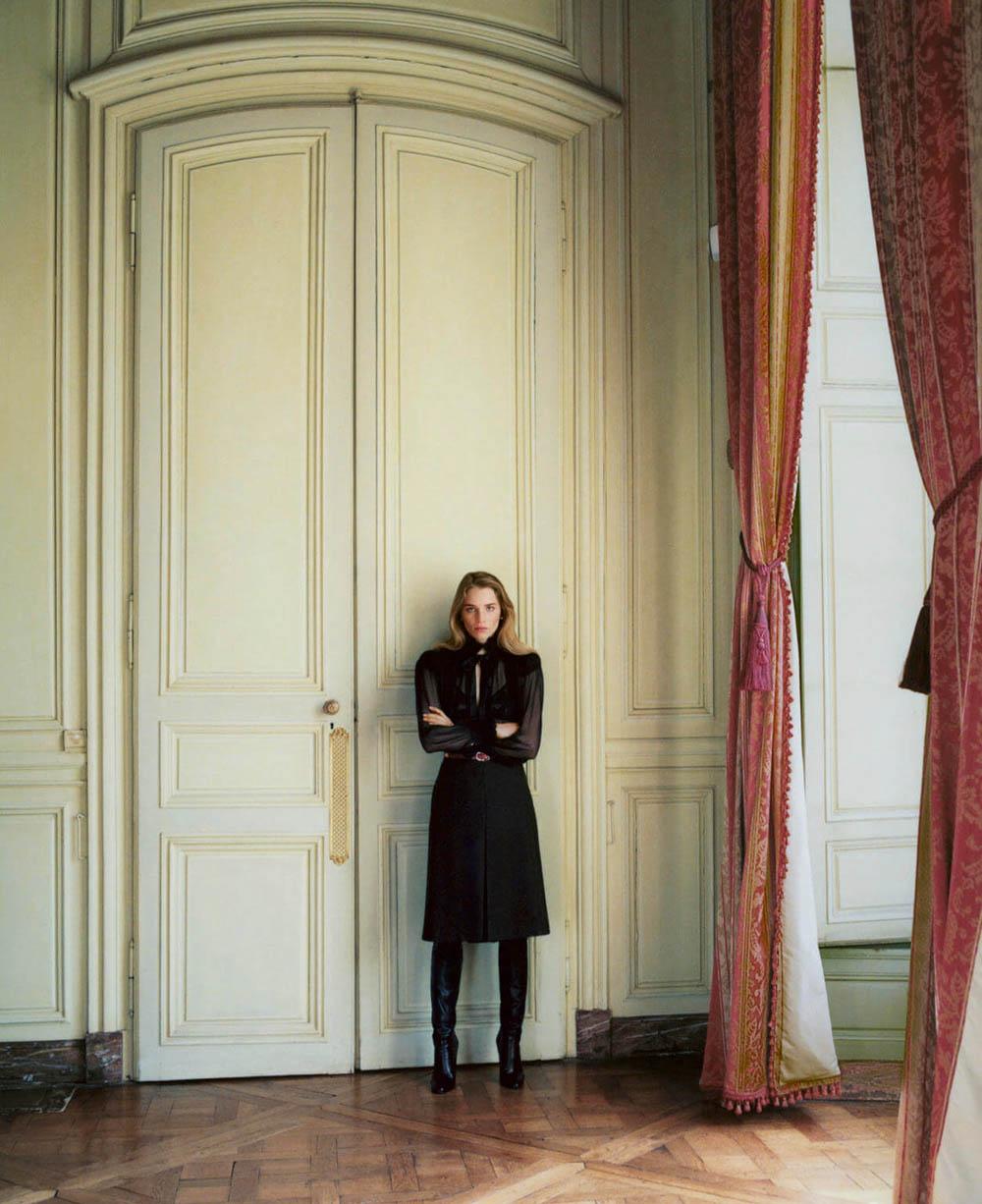 Rebecca Leigh Longendyke by Zoë Ghertner for British Vogue September 2019