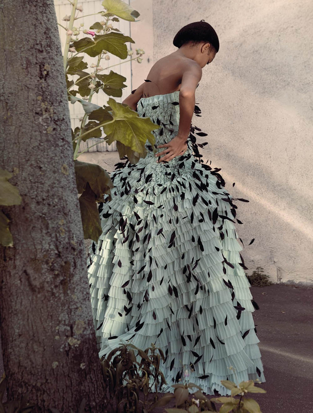 Samile Bermannelli by Katja Mayer for Numéro September 2019
