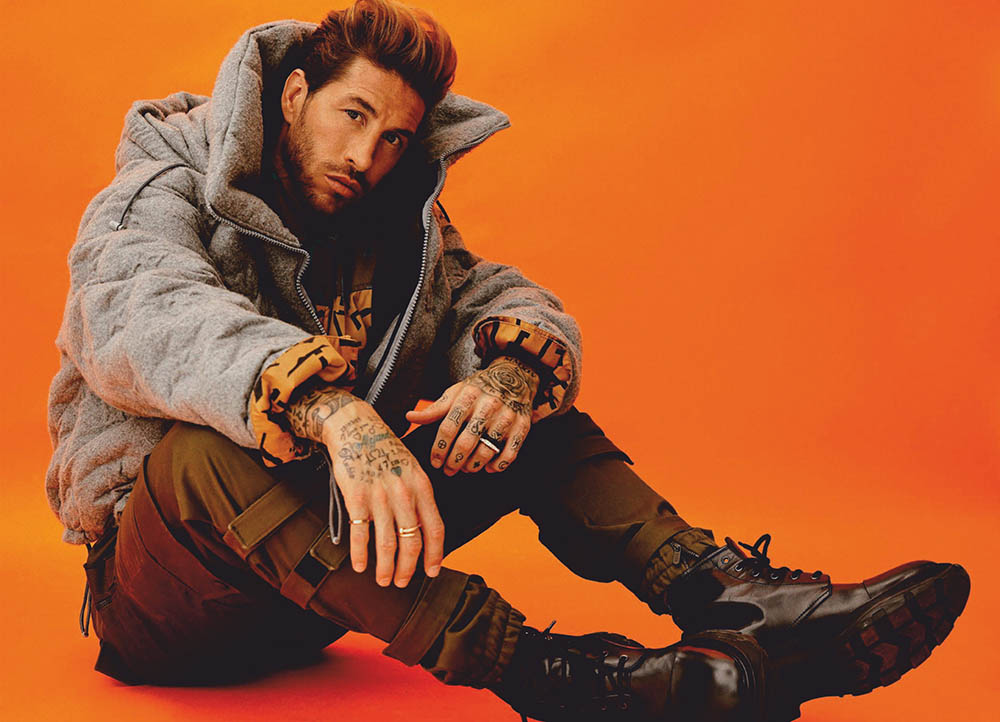 Sergio Ramos covers Esquire Spain September 2019 by Javier Biosca