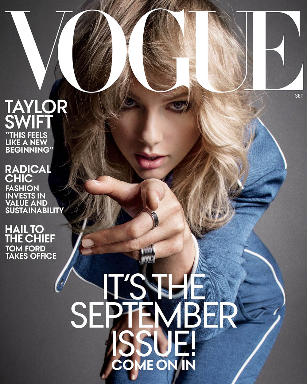 Taylor Swift covers Vogue US September 2019 by Inez and Vinoodh