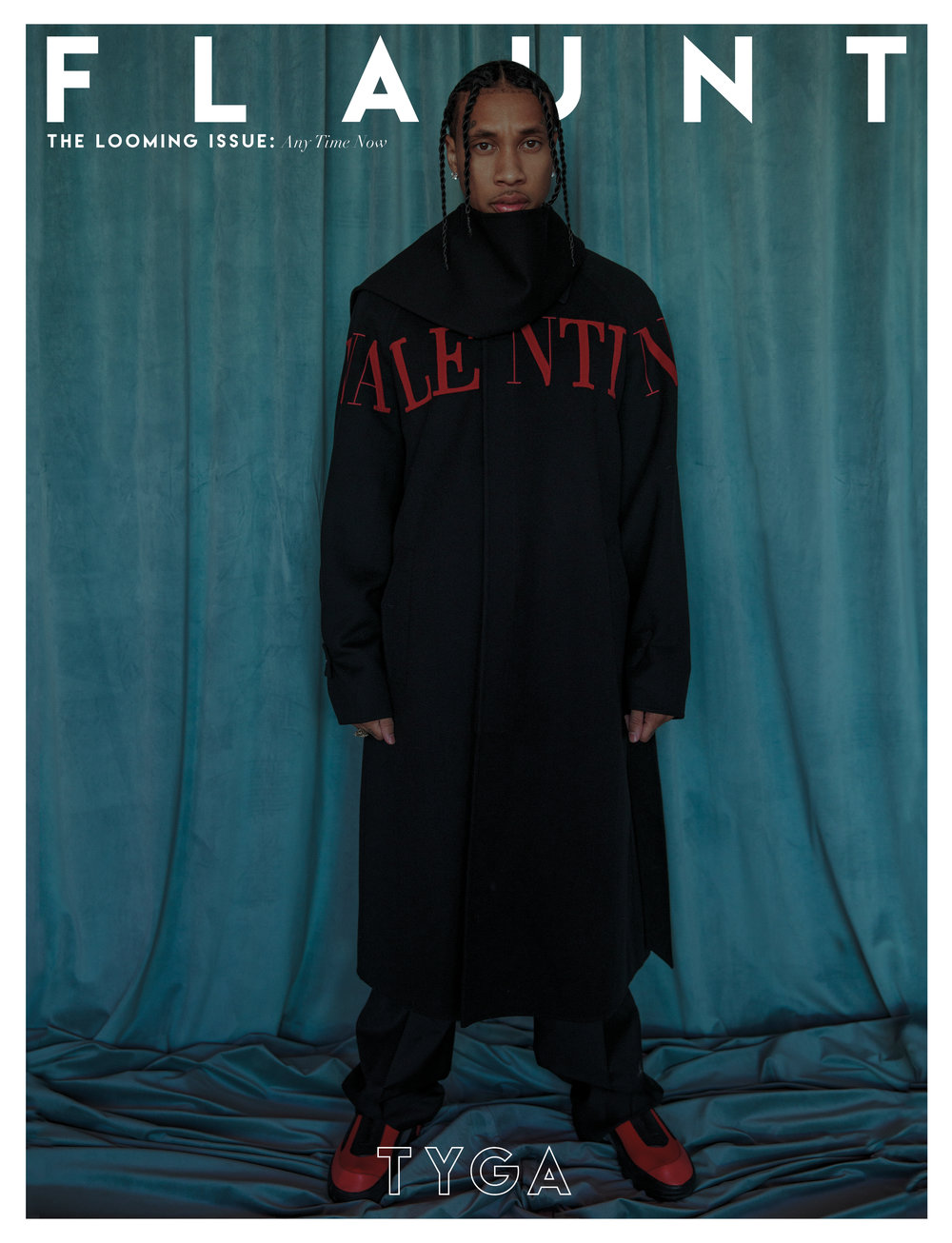 Tyga covers Flaunt Magazine Issue 166 by Lowfield