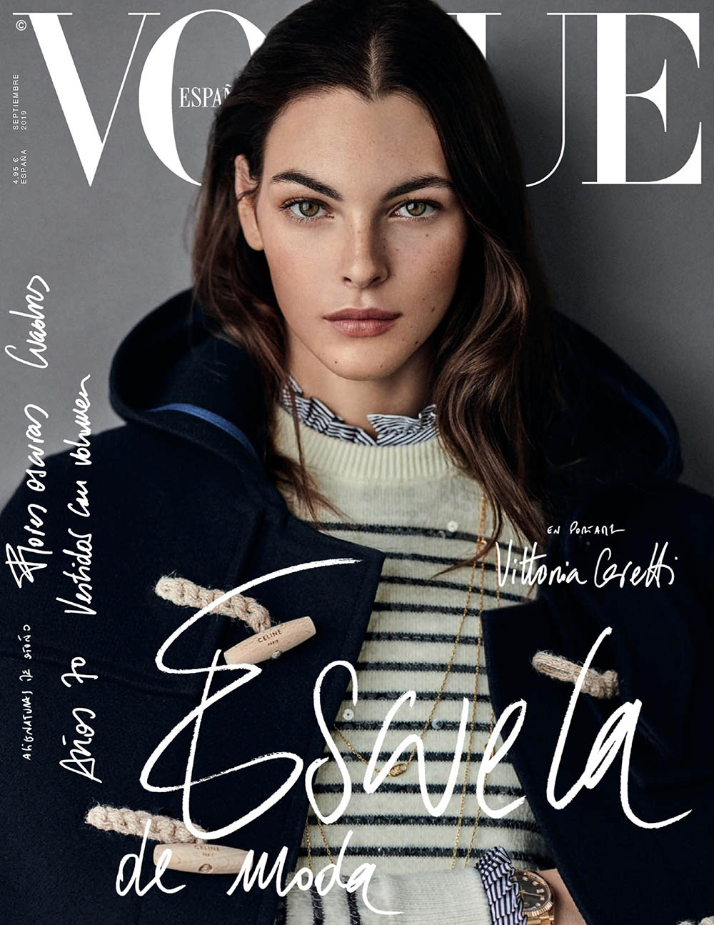 Vittoria Ceretti covers Vogue Spain September 2019 by Giampaolo Sgura