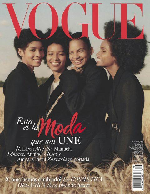 Vogue Latin America September 2019 cover by Ben Weller