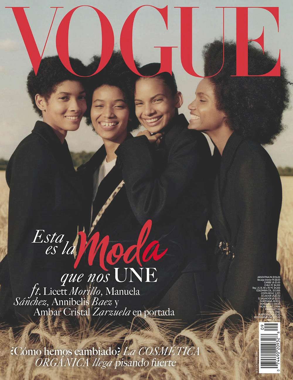 Vogue Latin America September 2019 cover by Ben Weller