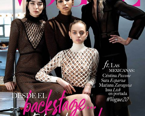 Vogue Mexico September 2019 cover by Santiago & Mauricio