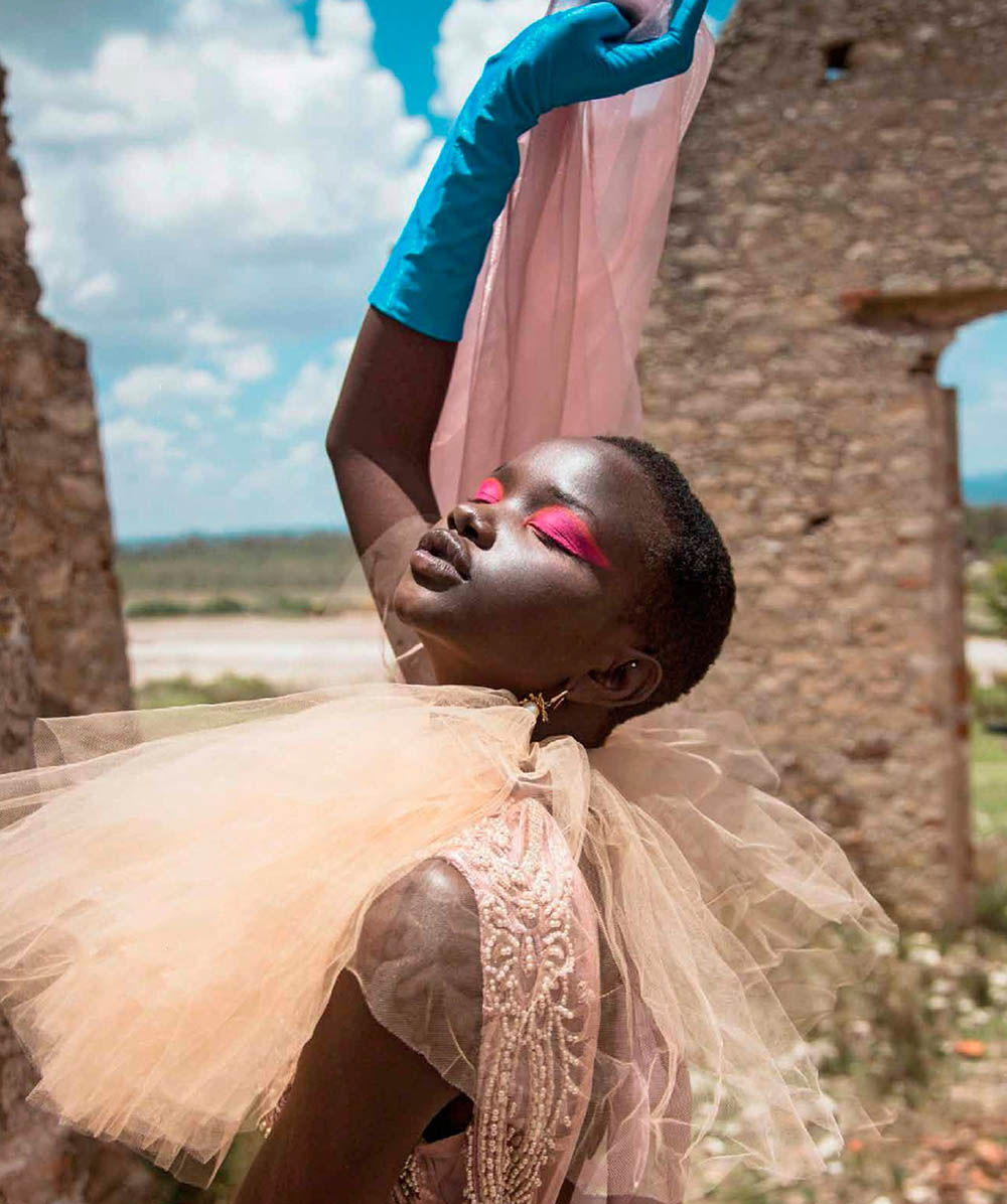 Akon Changkou by Alejandro Salinas for Harper's Bazaar Mexico & Latin America October 2019