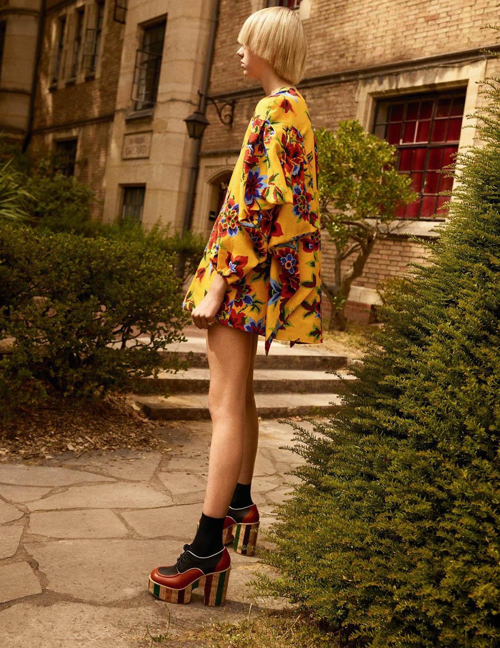 Bente Oort by Karim Sadli for Vogue Paris October 2019