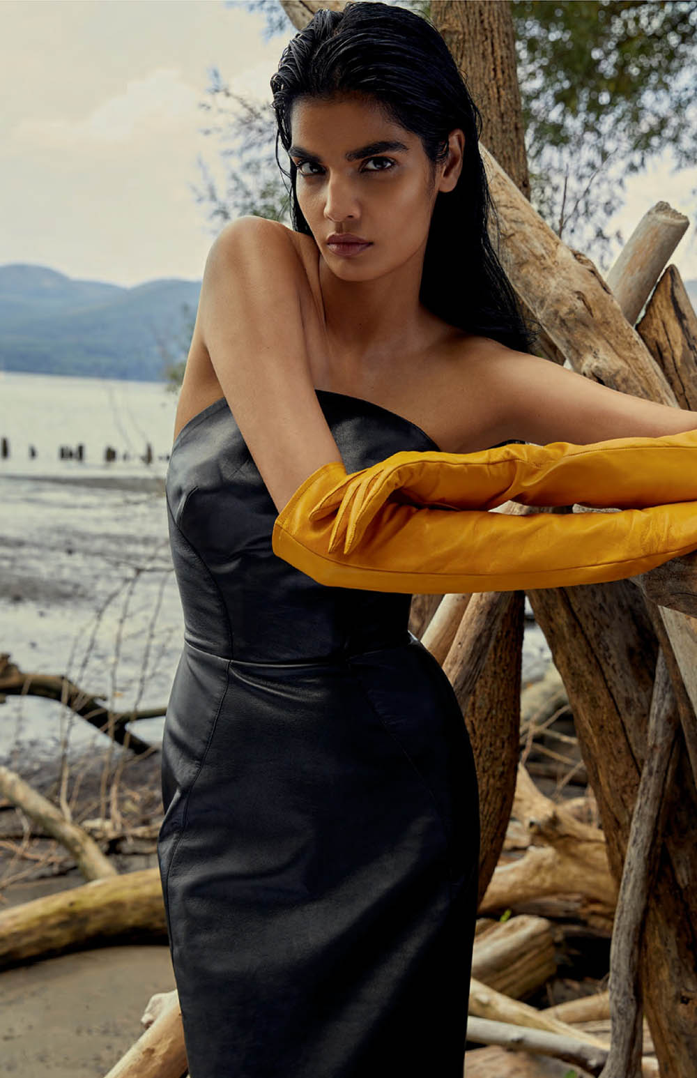 Bhumika Arora by Royal Gilbert for Elle Canada October 2019
