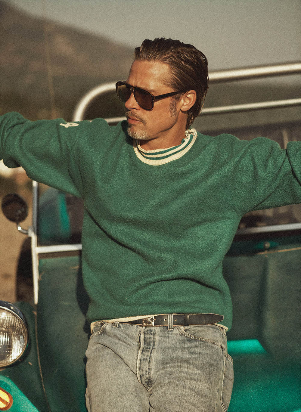 Brad Pitt covers GQ USA October 2019 by Lachlan Bailey