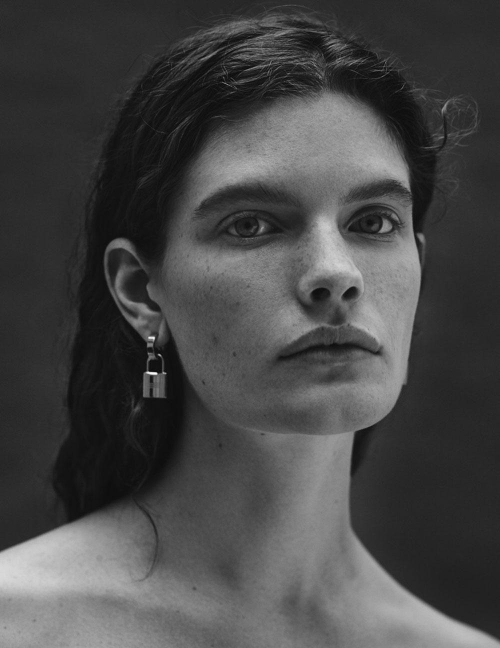 Carolina Burgin covers Vogue Ukraine October 2019 by Vanina Sorrenti