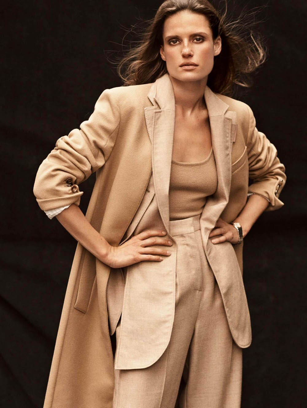 Cate Underwood by Tom Schirmacher for Elle UK October 2019