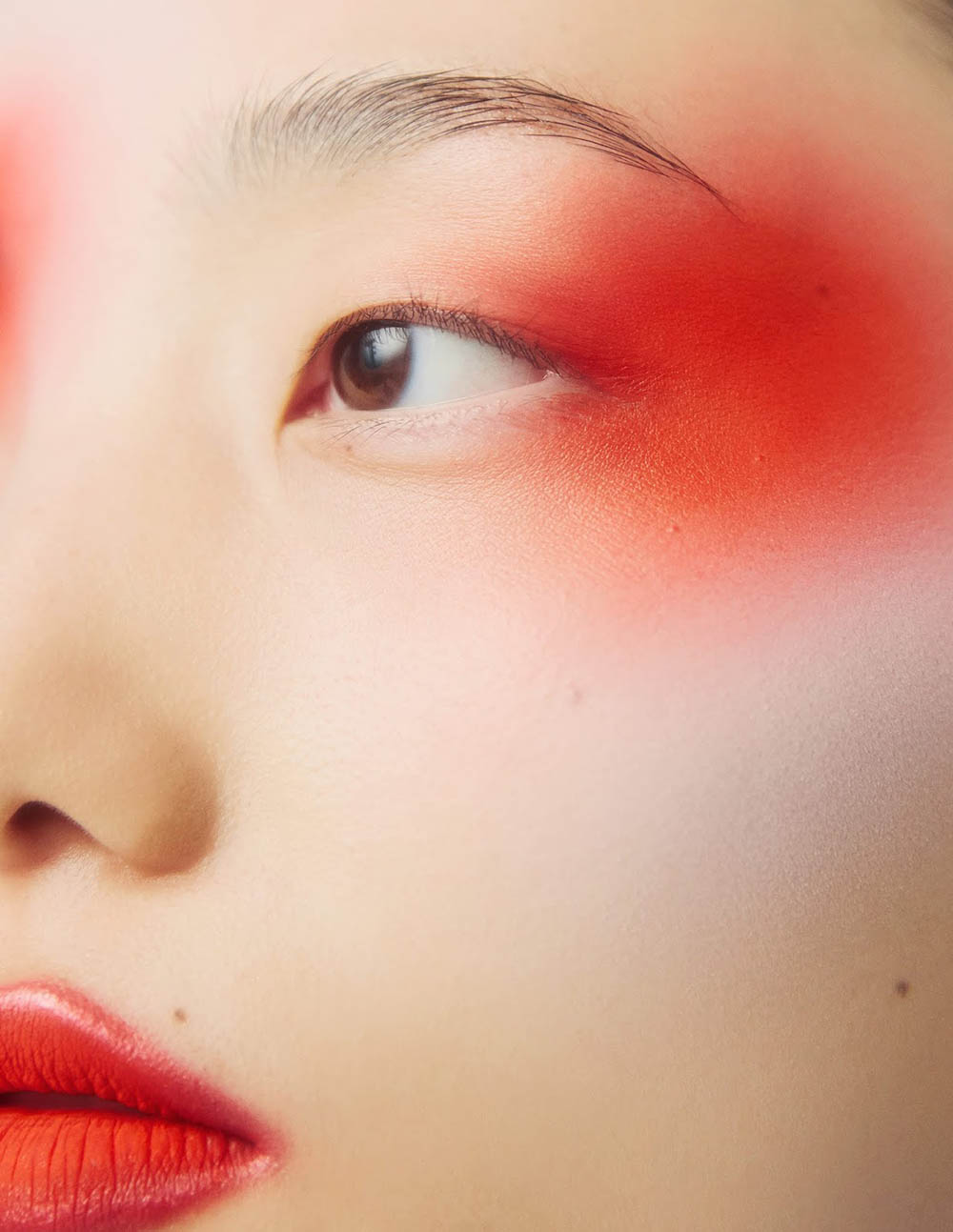 Chunjie Liu and Liu Huan by Ruo Bing Li for Harper's Bazaar China October 2019