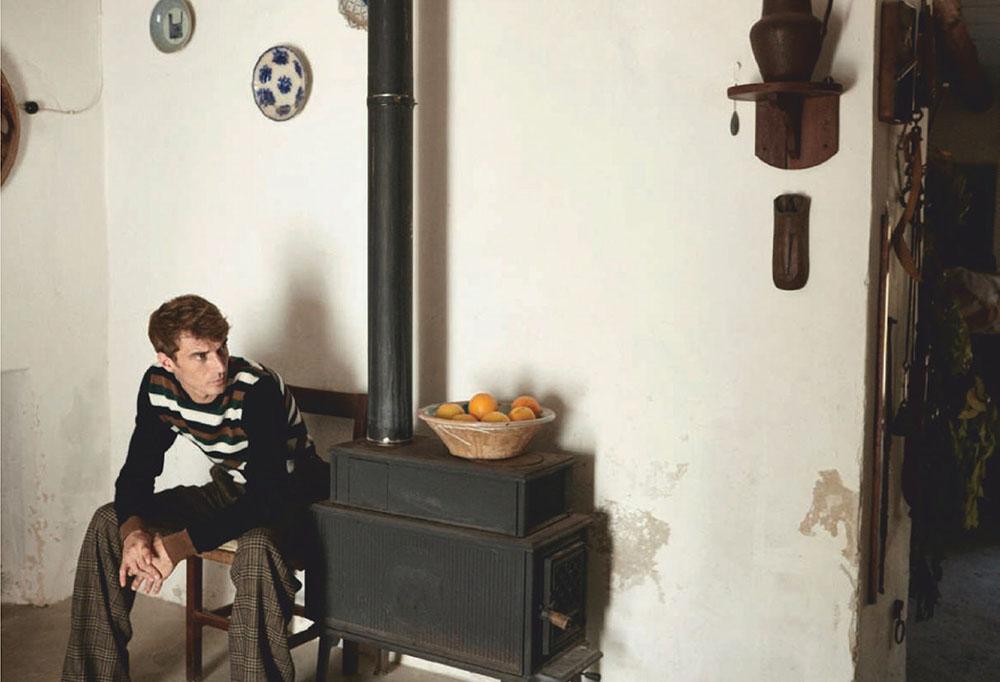 Clément Chabernaud by Estévez + Belloso for Esquire Spain October 2019