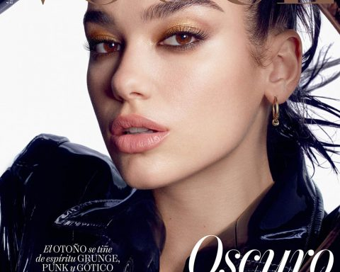 Dua Lipa covers Vogue Spain October 2019 by Luigi & Iango