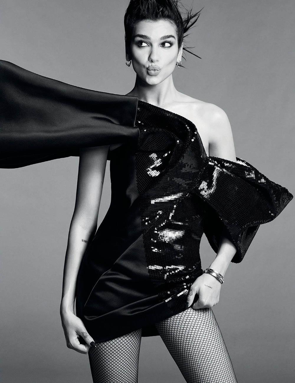 Dua Lipa covers Vogue Spain October 2019 by Luigi & Iango