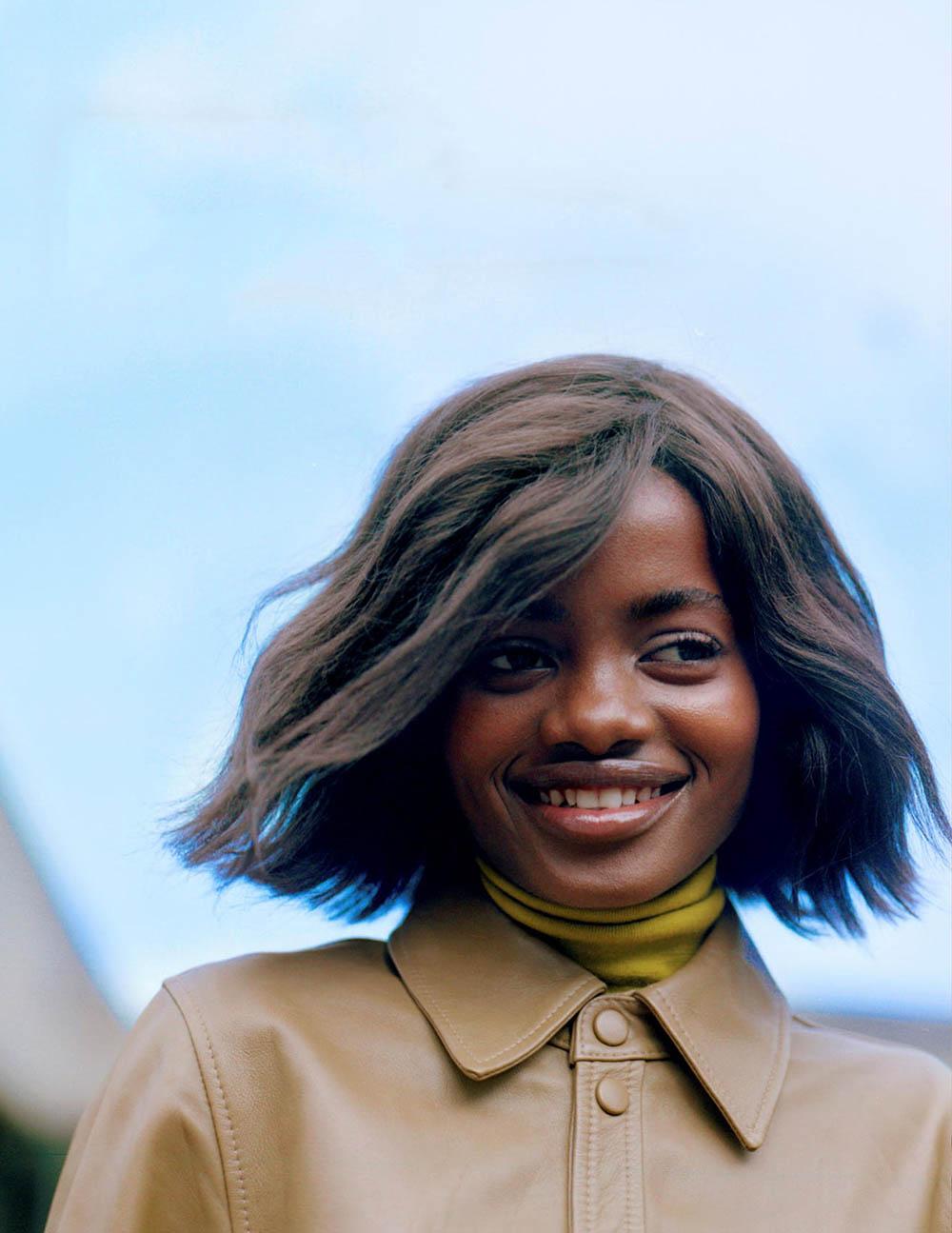 Elizabeth Ayodele by Casper Kofi for Vogue Netherlands October 2019