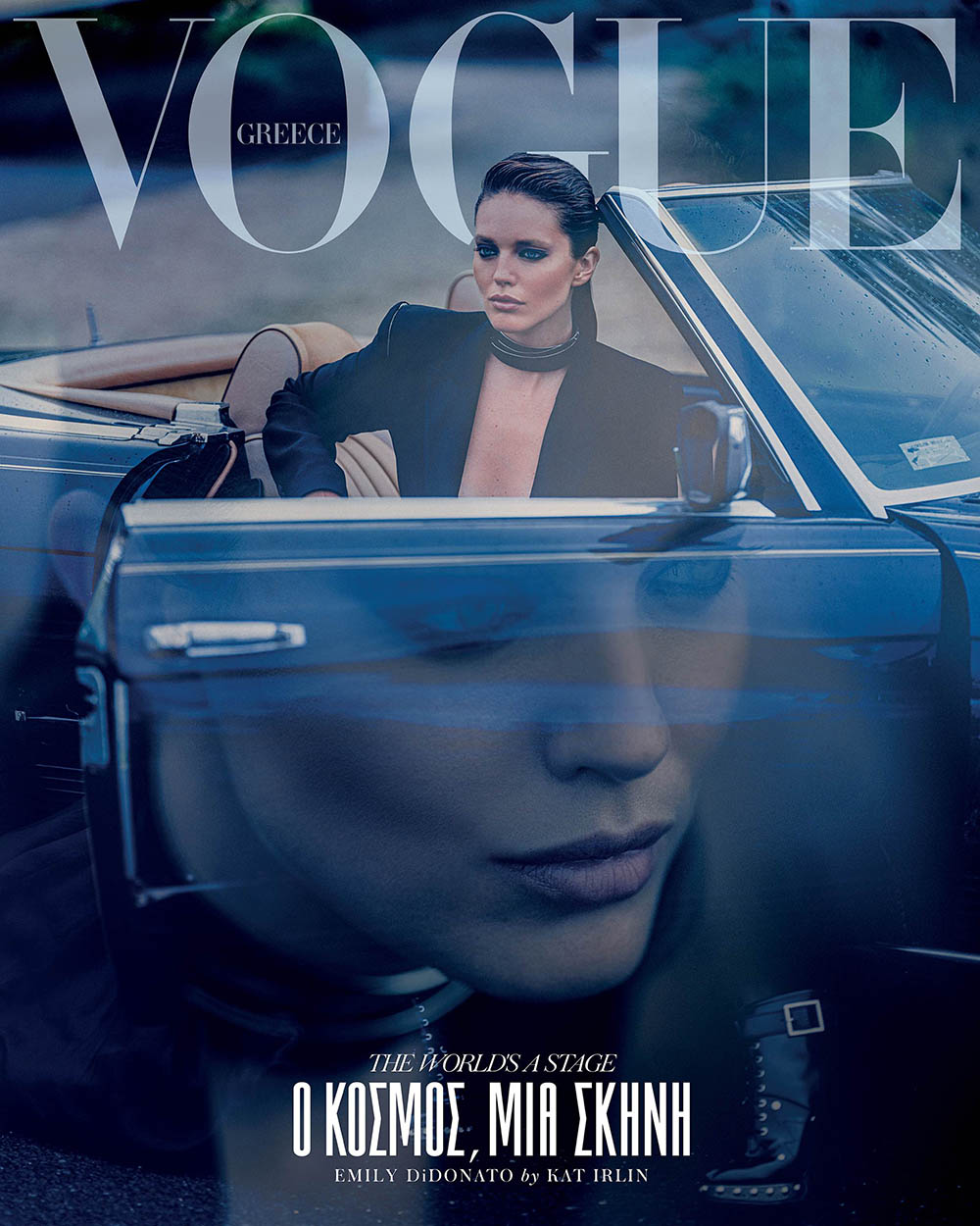 Emily DiDonato covers Vogue Greece October 2019 by Kat Irlin