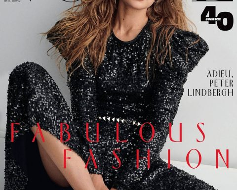 Gigi Hadid covers Vogue Germany November 2019 by Giampaolo Sgura