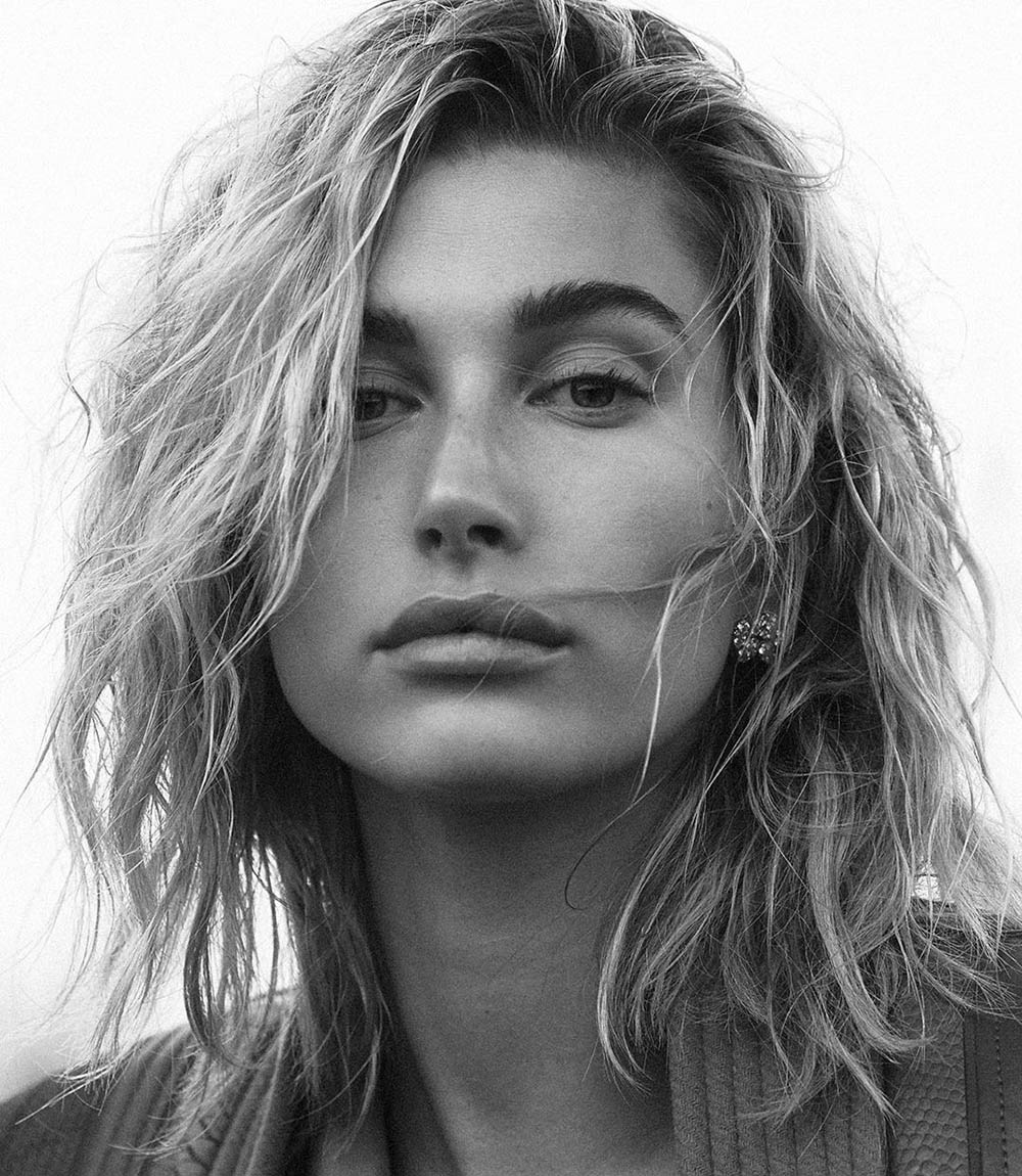 Hailey Baldwin covers Vogue Australia October 2019 by Lachlan Bailey