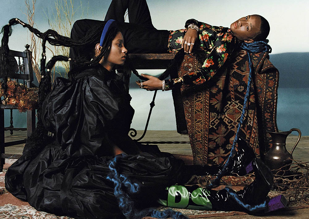 Jaden and Willow Smith cover Vogue Italia October 2019 by Hugo Comte