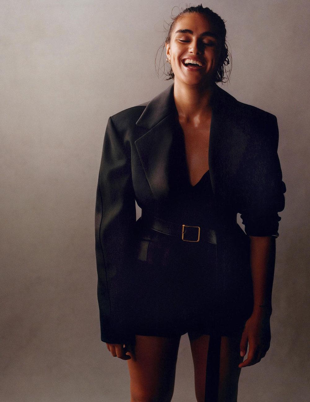 Jill Kortleve covers Vogue Netherlands October 2019 by Scott Trindle
