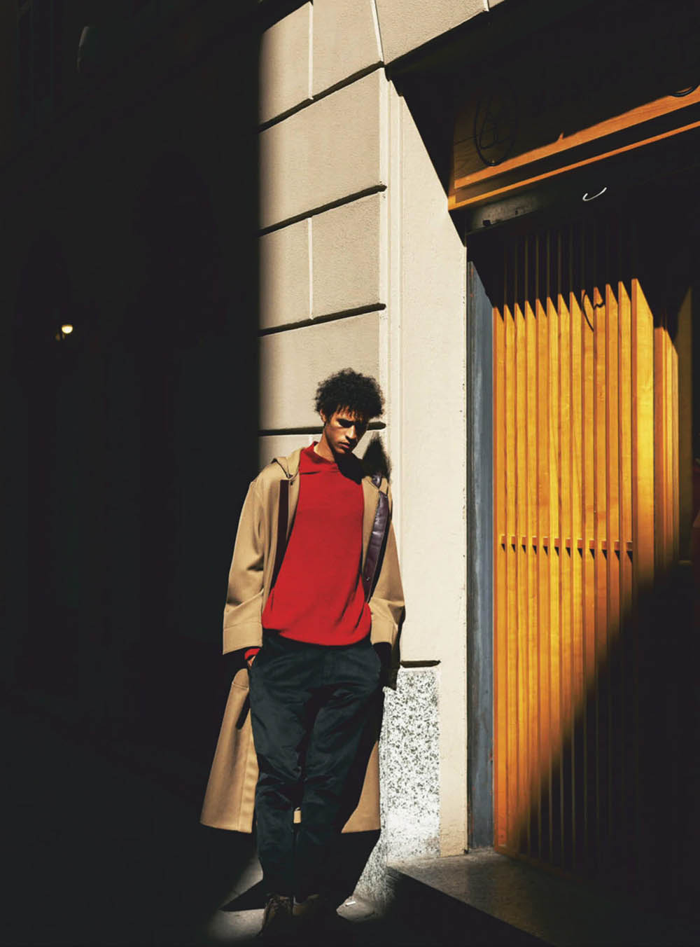 Kaissan Ibrahima by Marko Peros for GQ Mexico October 2019