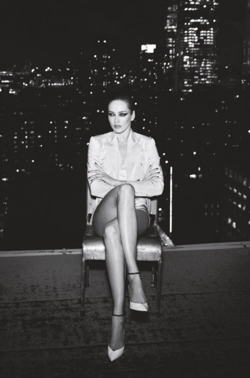 Karmen Pedaru by Zoey Grossman for Elle Portugal October 2019