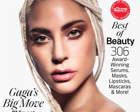 Lady Gaga covers Allure US October 2019 by Daniel Jackson