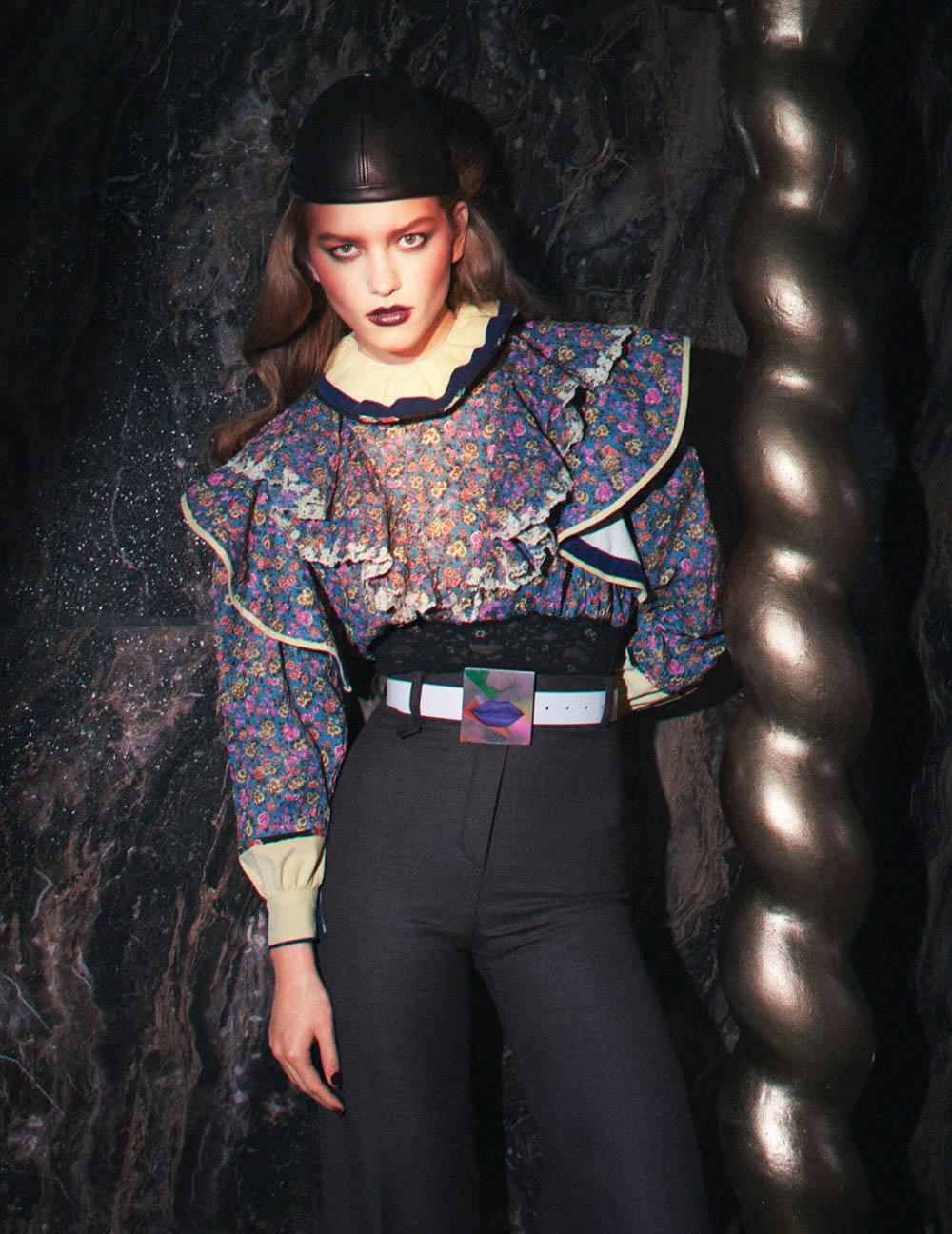 Laurijn Bijnen covers Vogue Paris October 2019 by David Sims