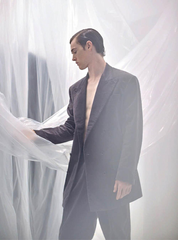 Liam Esteban by Luis Alvarez for Esquire Spain October 2019