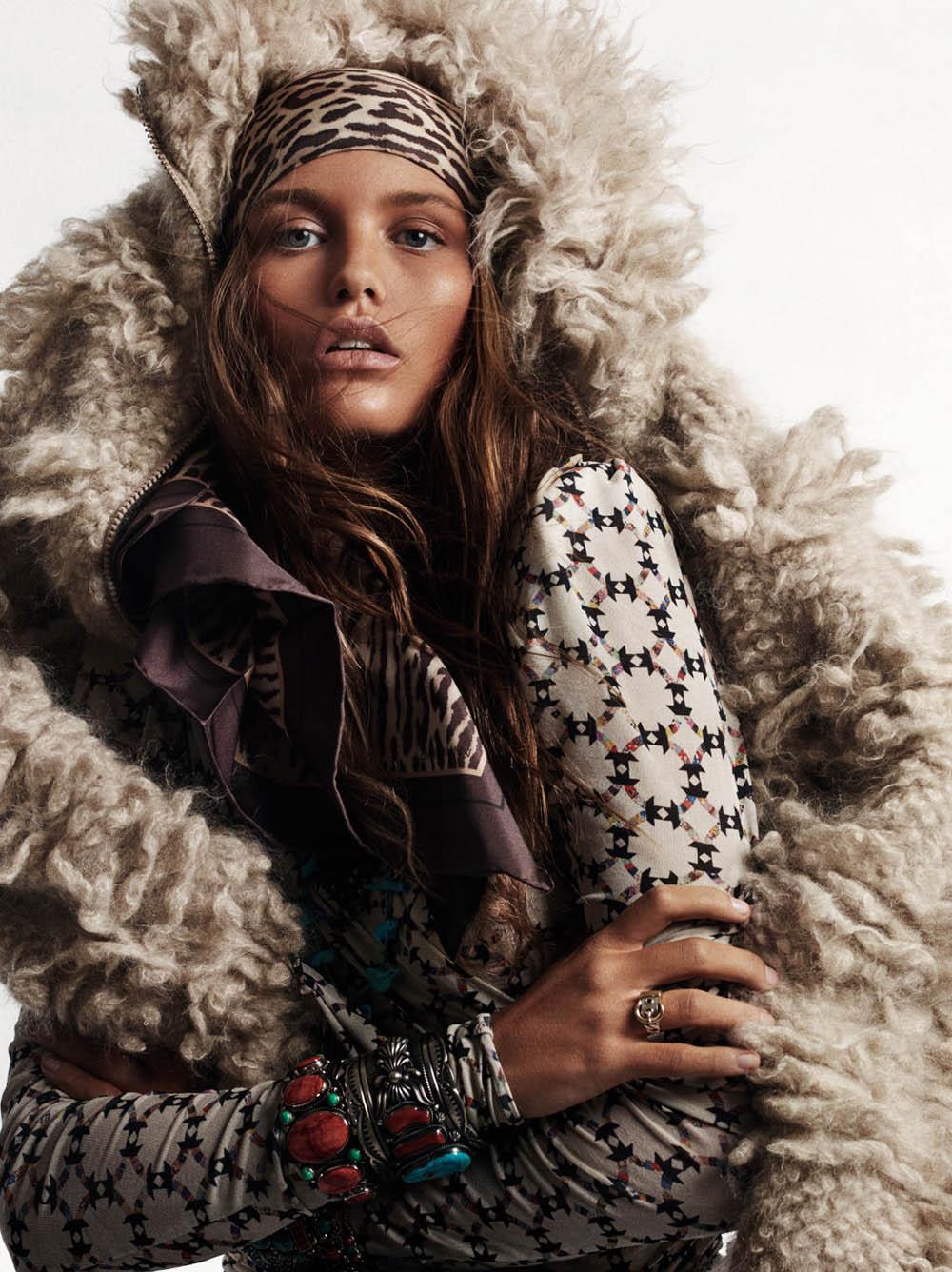 Luna Bijl by Christian MacDonald for Vogue Paris October 2019