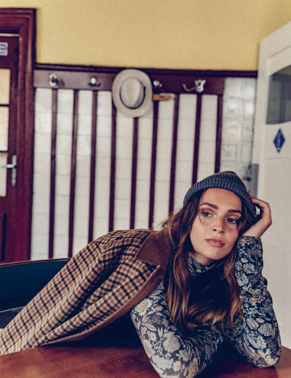 Maddie Kulicka by Bart Pogoda for Vogue Poland October 2019