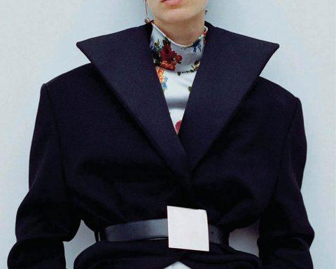 Marte Mei van Haaster by Dario Catellani for Vogue China October 2019