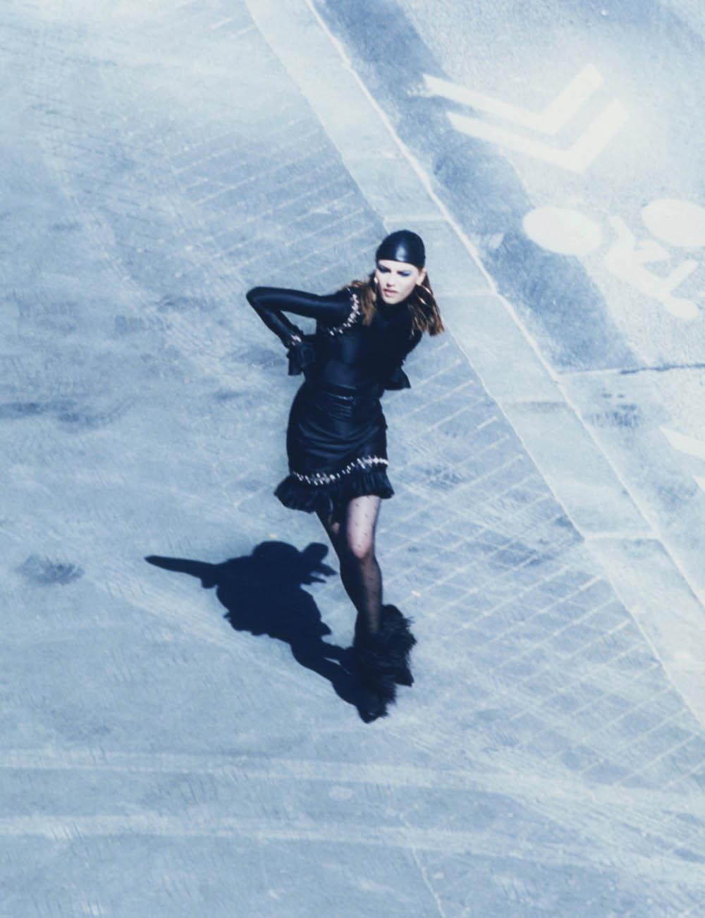 Mica Argañaraz and Fran Summers by Sam Rock for Vogue Paris October 2019