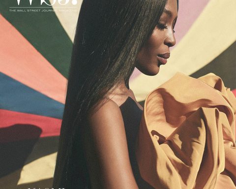 Naomi Campbell covers WSJ. Magazine October 2019 by Annemarieke van Drimmelen
