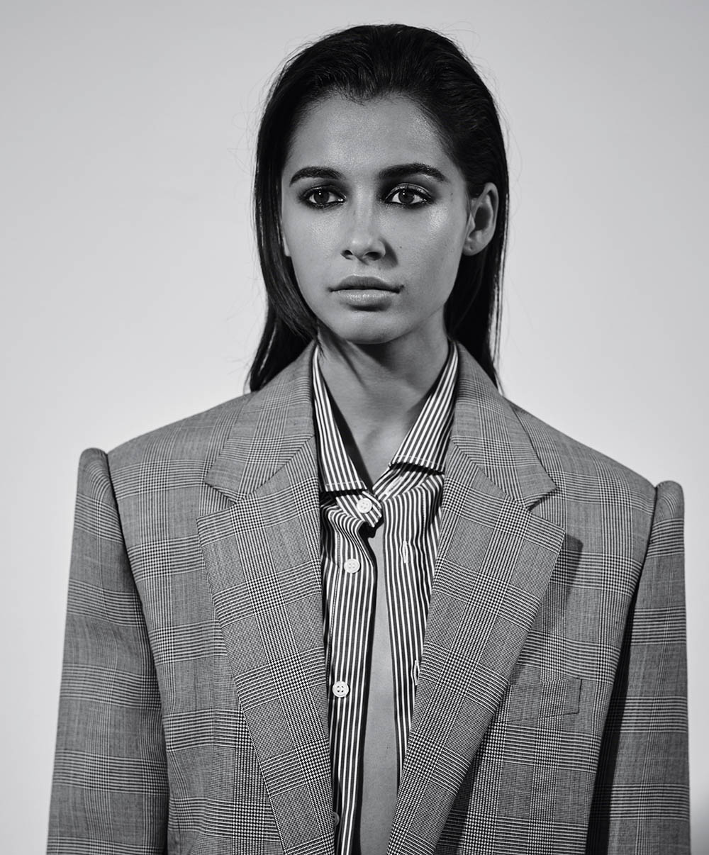 Naomi Scott covers AnOther Magazine Fall Winter 2019 by Collier Schorr