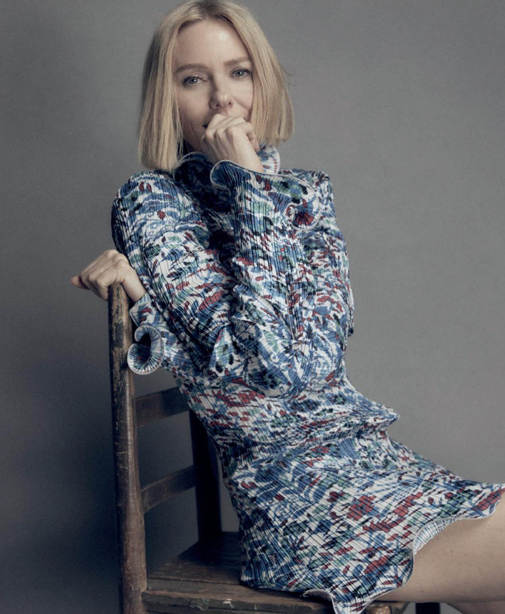 Naomi Watts by Darren McDonald for Harper's Bazaar Spain October 2019